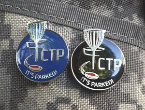 Disc Golf CTP Pins