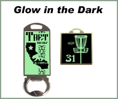 Glow in the Dark Bag Tags