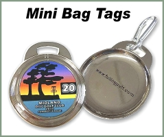 Metal Mini Bag Tags